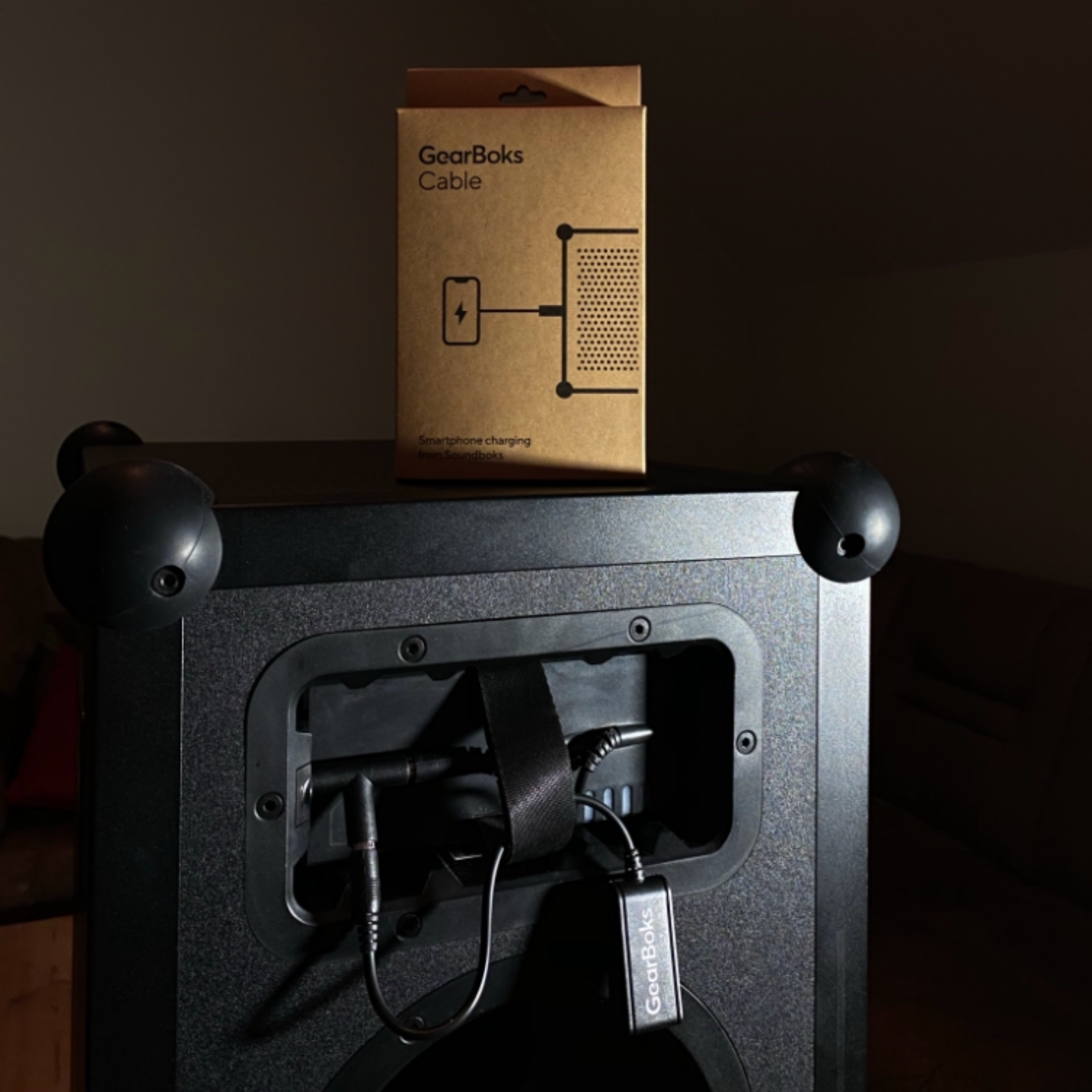 Gearboks connected to a SOUNDBOKS