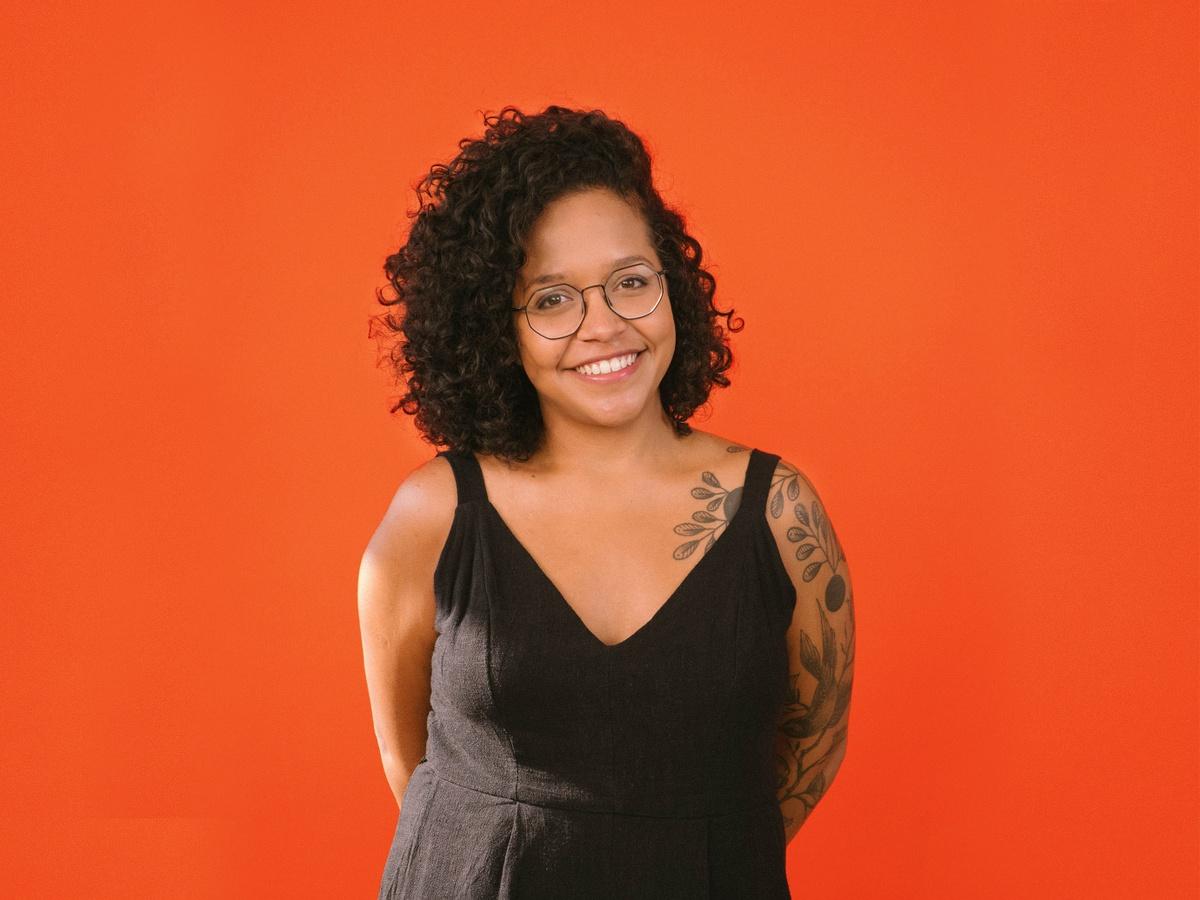 Natalia, the graphic design lead at SOUNDBOKS.