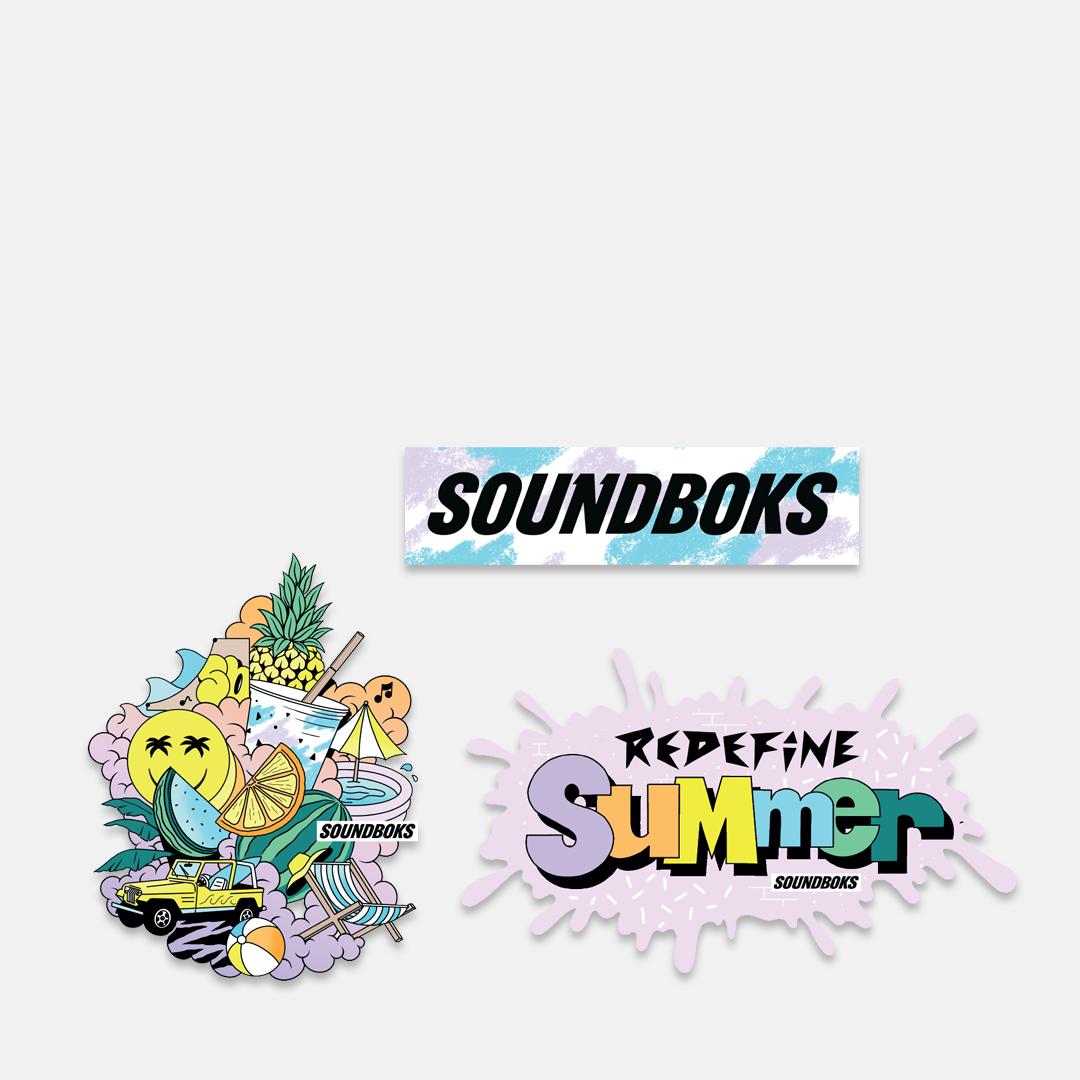 Limited Edition SOUNDBOKS Stickers