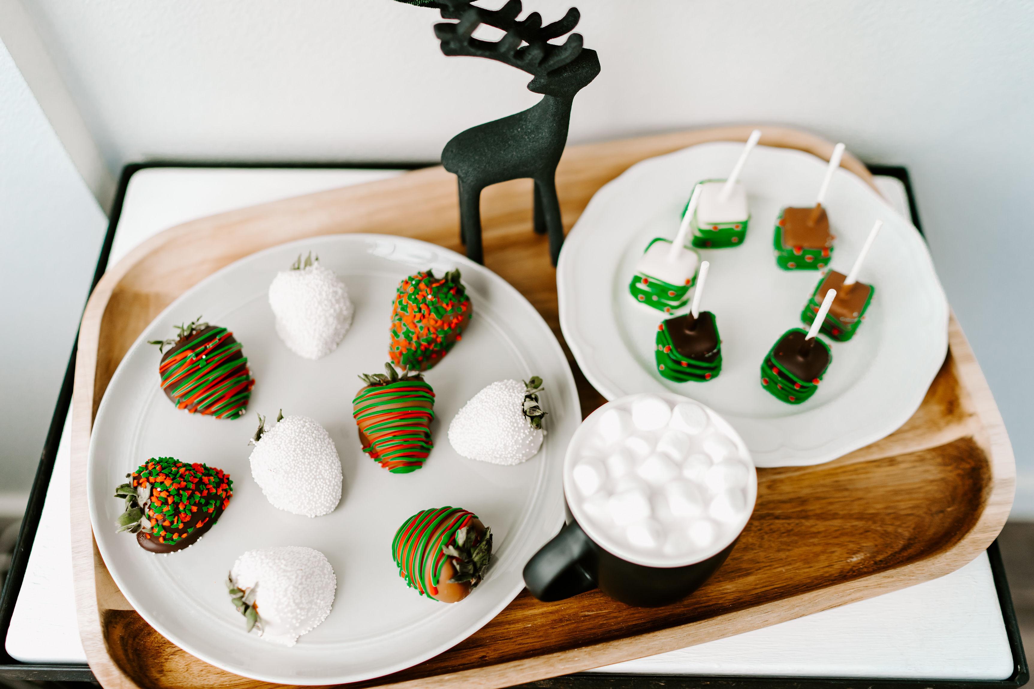 Christmas gift food baskets