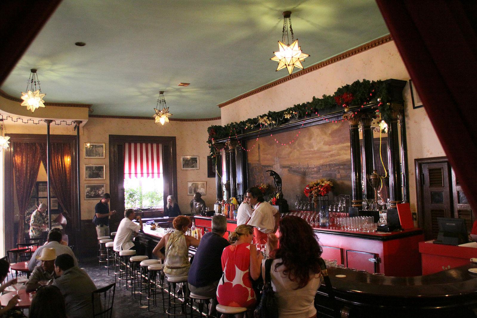 La Floridita restaurant in Cuba