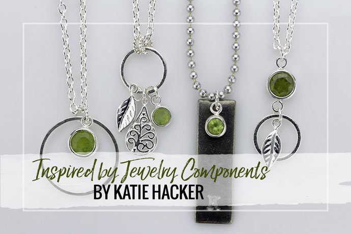Katie Hacker explores how jewelry findings can inspire a cohesive collection of necklace designs featuring signature elements to define the selection.