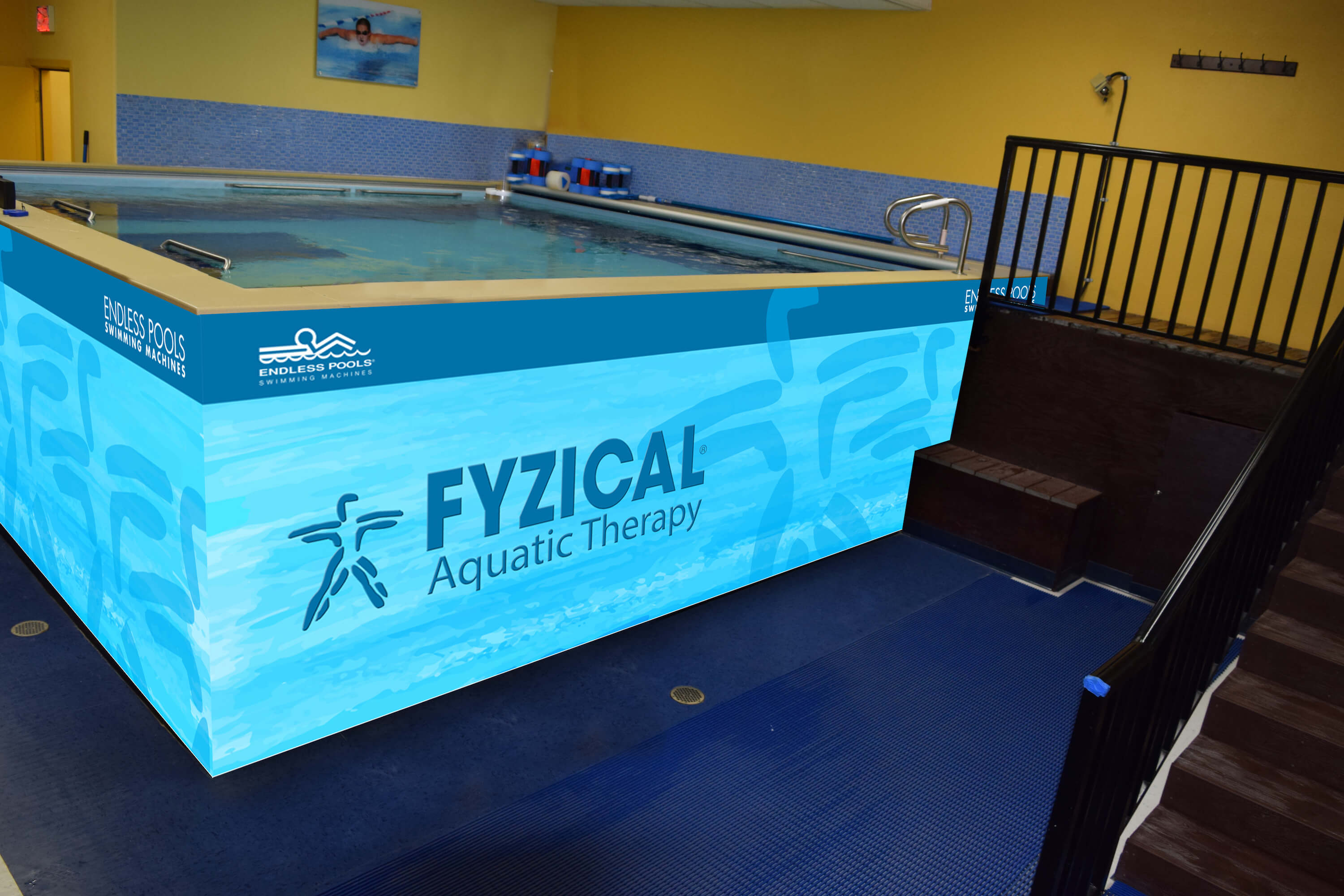 A Dual Propulsion Endless Pool planned for FYZICAL aquatic therapy in Yuma