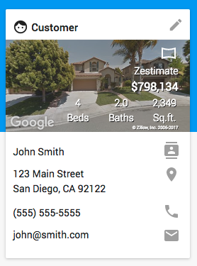 Zillow on Web Portal