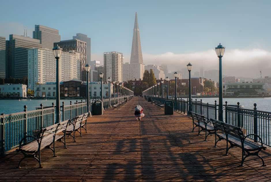 big city boardwalk