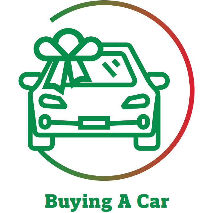 buying a car icon