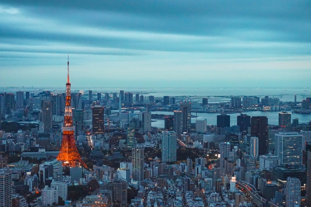 Tokyo Tower is a great Tokyo sightseeing spot