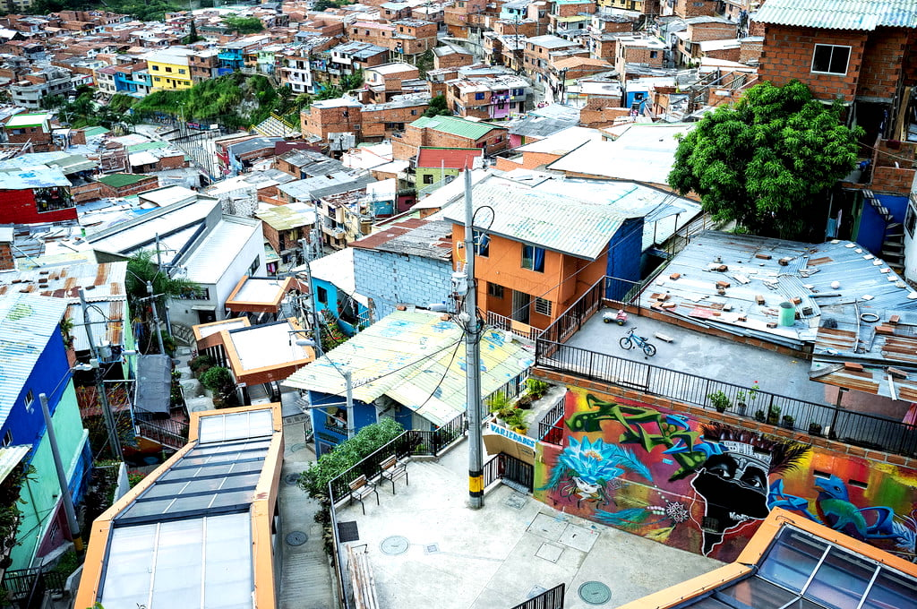 Comuna 13 in Medellin Colombia Things to Do in Colombia