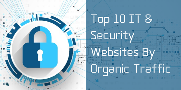 Top 10 IT & Security Websites By Organic Traffic