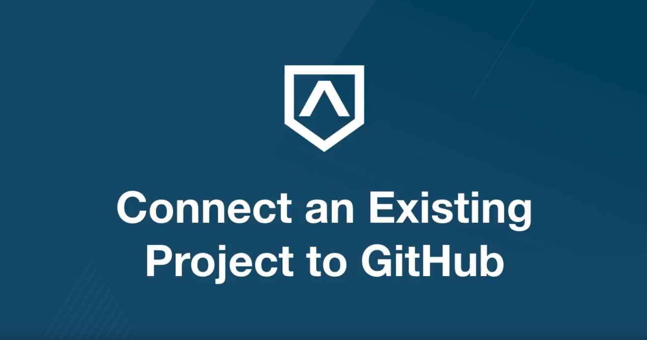 How To Connect an Existing Project to GitHub
