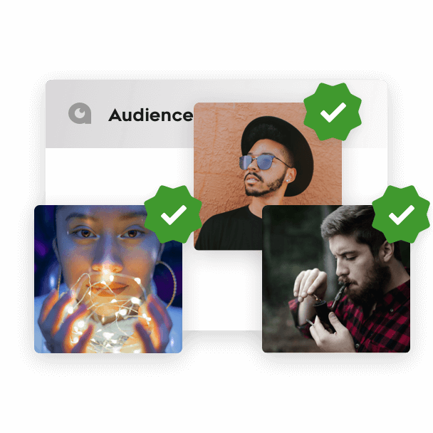 100% Verified, Opt-in Audiences
