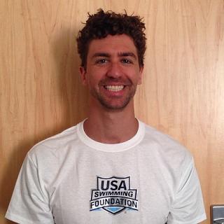 Olympic gold-medal swimmer Anthony Ervin