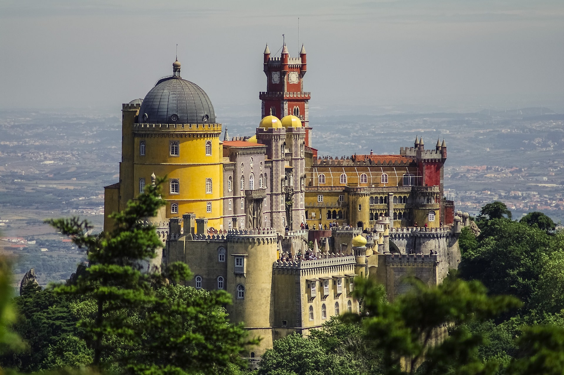 Marveling at Sintra's palaces is an amazing thing to do in Portugal