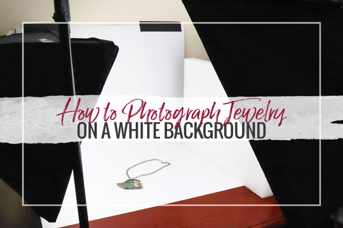 Learn how to photograph jewelry on a white background for website store listings or professional marketing. Make your jewelry photography easy!