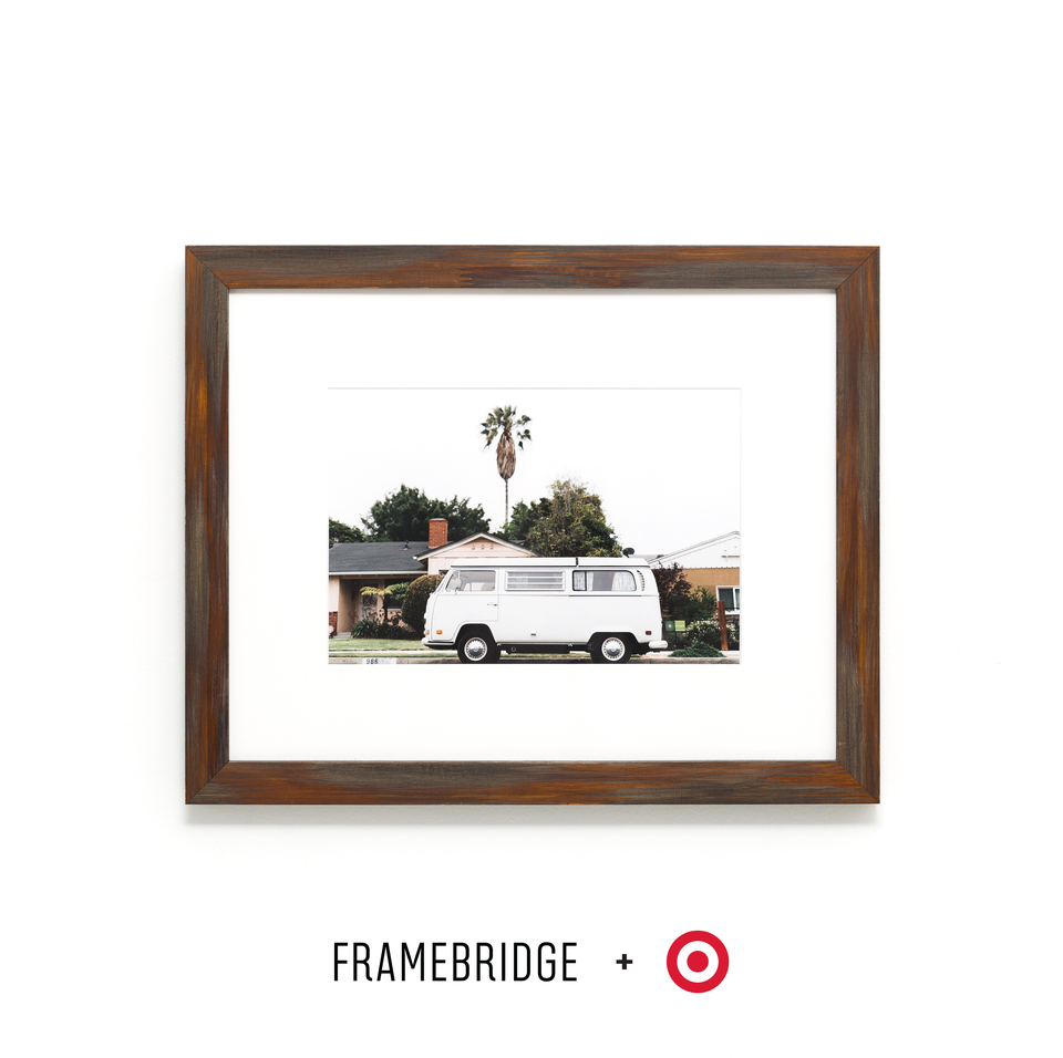Laredo Espresso Finish Picture Frame for Framebridge and Target Collection