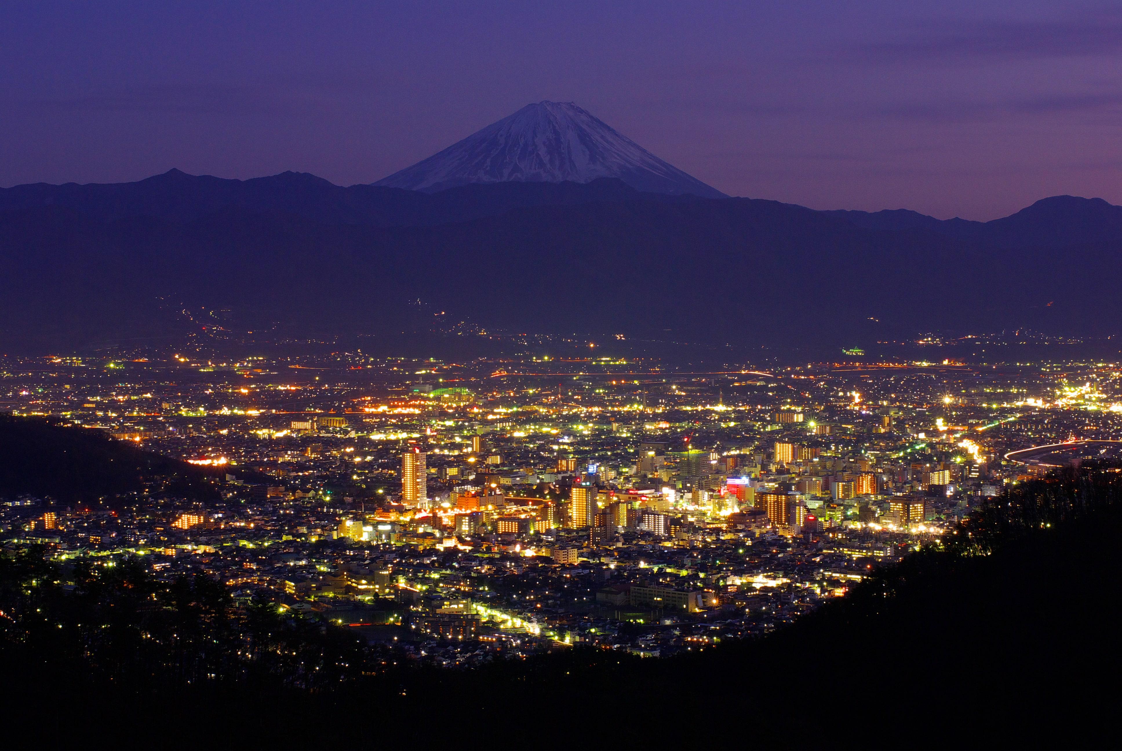 Kofu in Japan