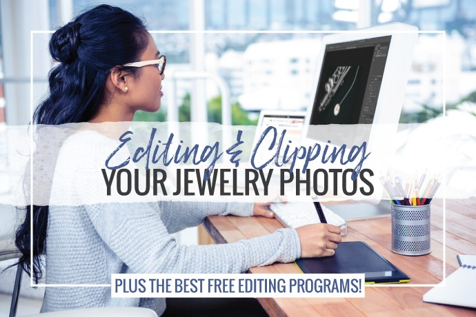 In this article we'll go over why you should edit your jewelry photos before posting them online as well as how to clip them and the best fr