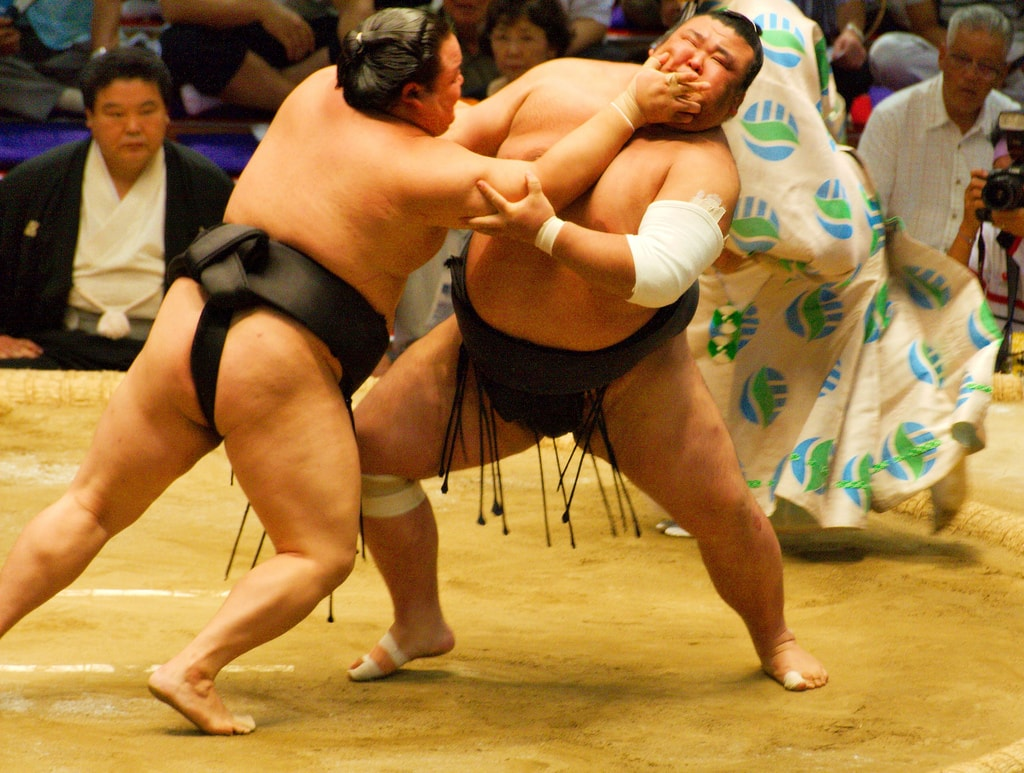 Sumo wrestling what to do in Japan