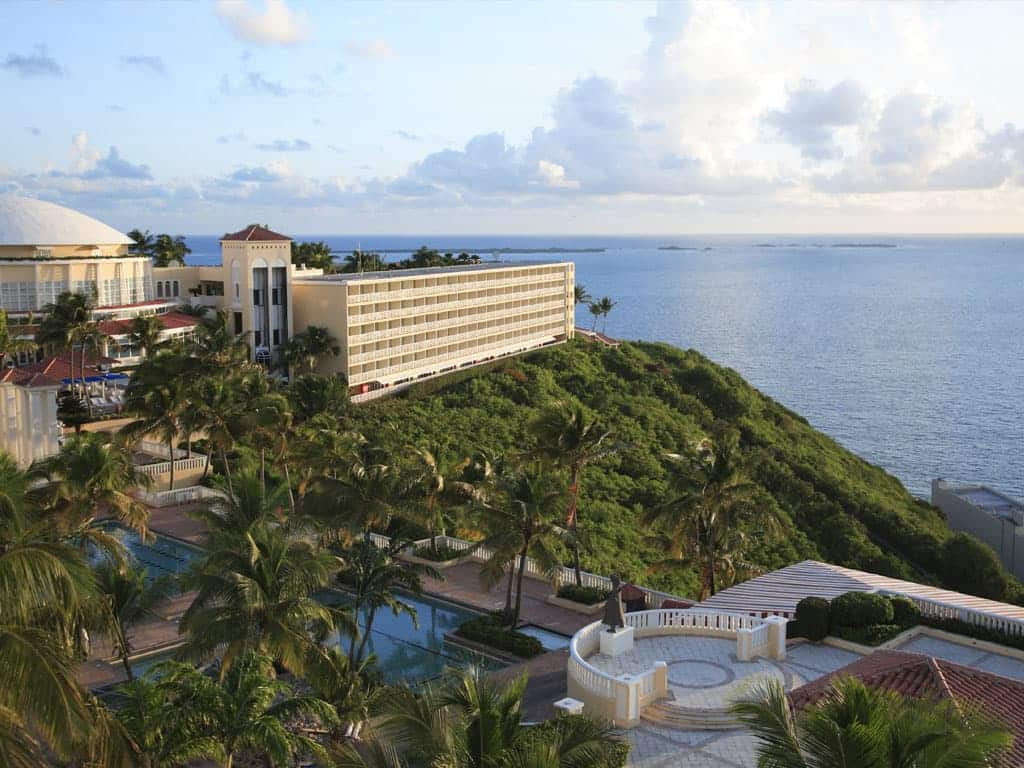 The stunning El Conquistador Resort is an excellent Puerto Rico family resort