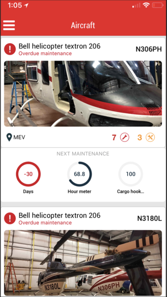 Aircraft Maintenance Tracking | Airplane & Helicopter | Aeyrium