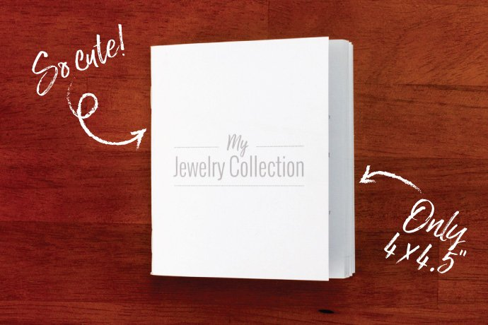 Jewelry collection book cover