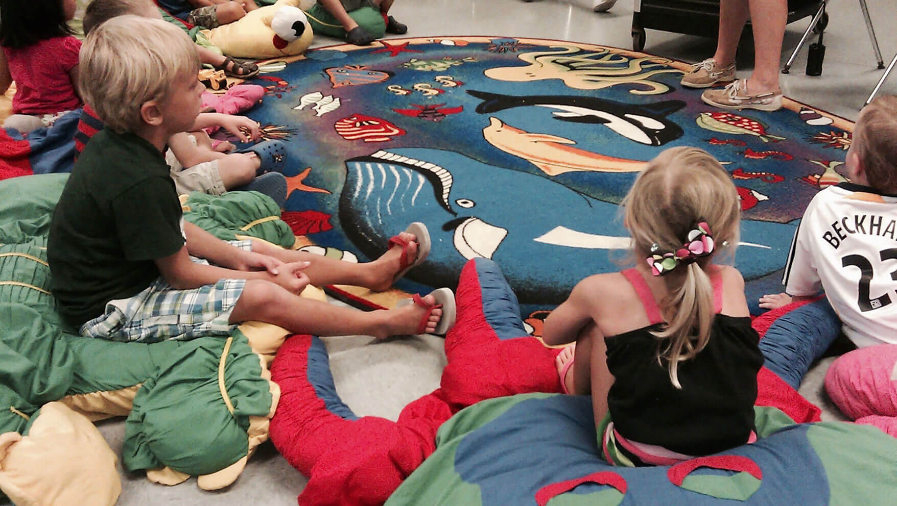 5 Great Tips for Getting a Group of Children to Settle in for Sunday School Story Time