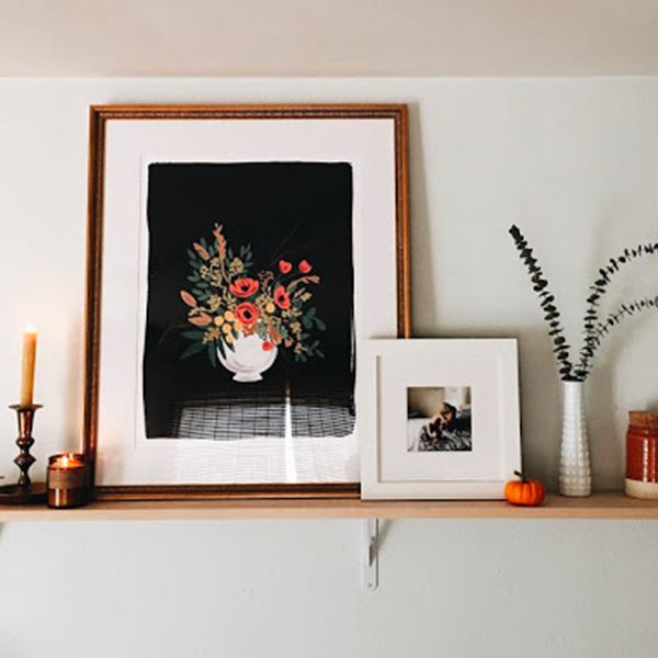 How To Build A Ledge Gallery Wall