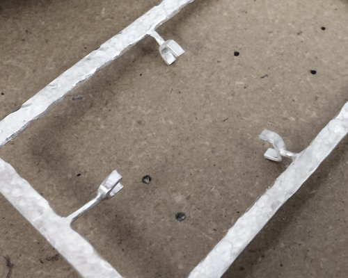 Tab settings for slabs