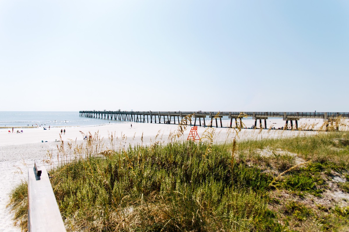 Image of Beaches You Can Drive on in the Jacksonville Area