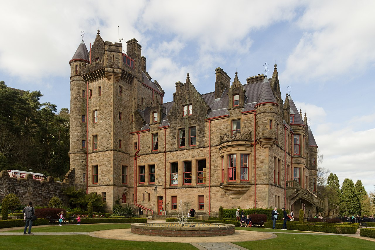 Checking out the gorgeous Belfast Castle is an incredible thing to do in Belfast Ireland