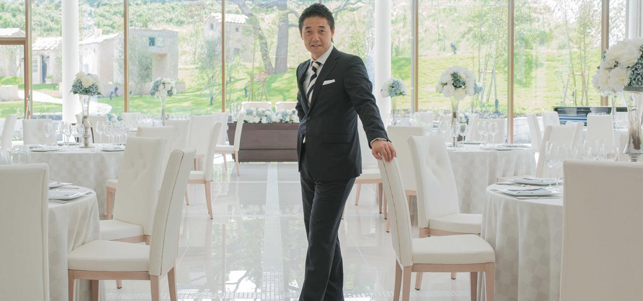 アイ・ケイ・ケイ株式会社 菊池旭貢 最上級のサービスで、感動のゲストハウスウェディングを