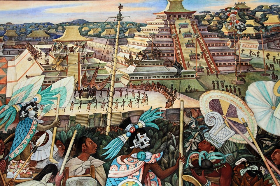 Add color to your Mexico City vacation by visiting the Diego Rivera murals
