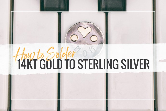 Learn how to sweat solder! Raise the value of your sterling silver pieces by soldering on 14kt gold to really make your jewelry designs stand out.