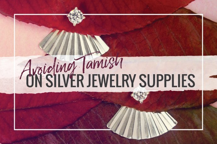 Avoiding tarnish on your silver jewelry supplies can prevent discoloration or rubbing off. Learn how to protect silver jewelry with easy DIY steps.