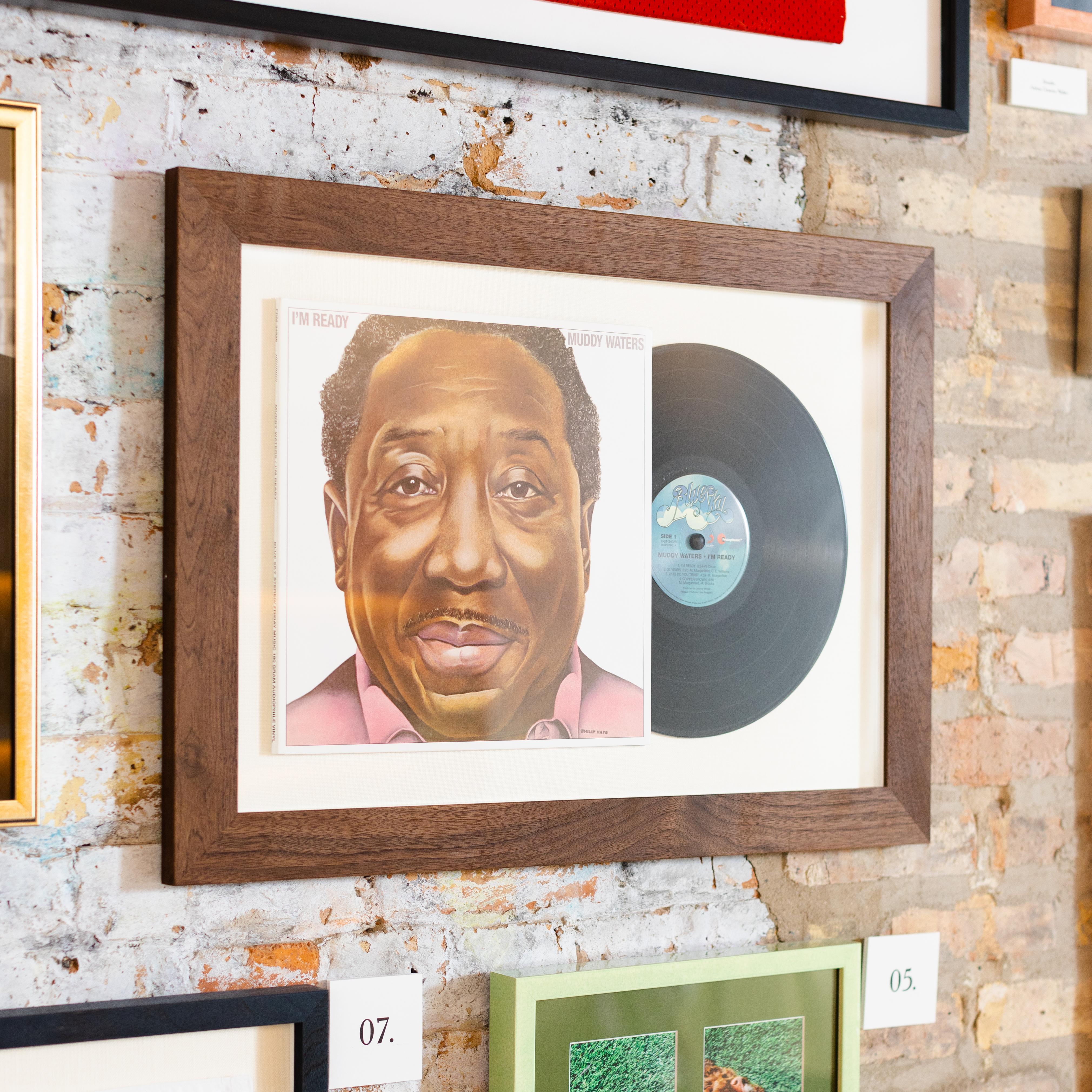 framed muddy waters vinyl