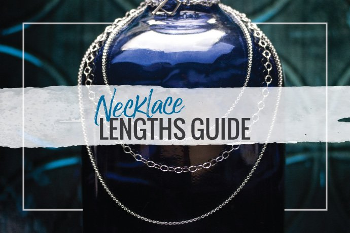 Best how-to necklace lengths guide. Match neckline styles to necklace lengths! Learn the official names of the various necklace lengths. Download the guide.