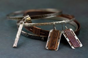 Pattern Wire Finished Jewelry by Erica Stice