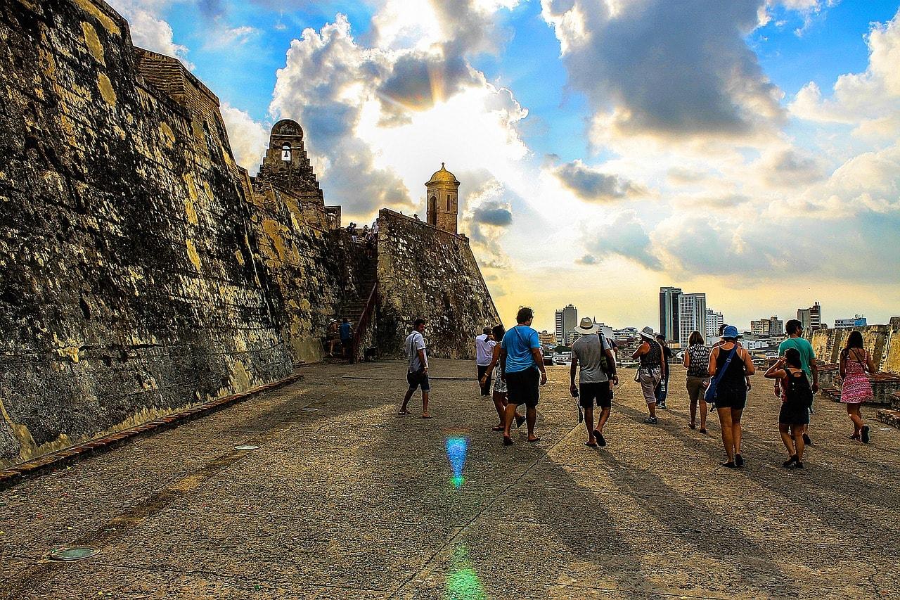 Castillo San Felipe in your Cartagena Colombia