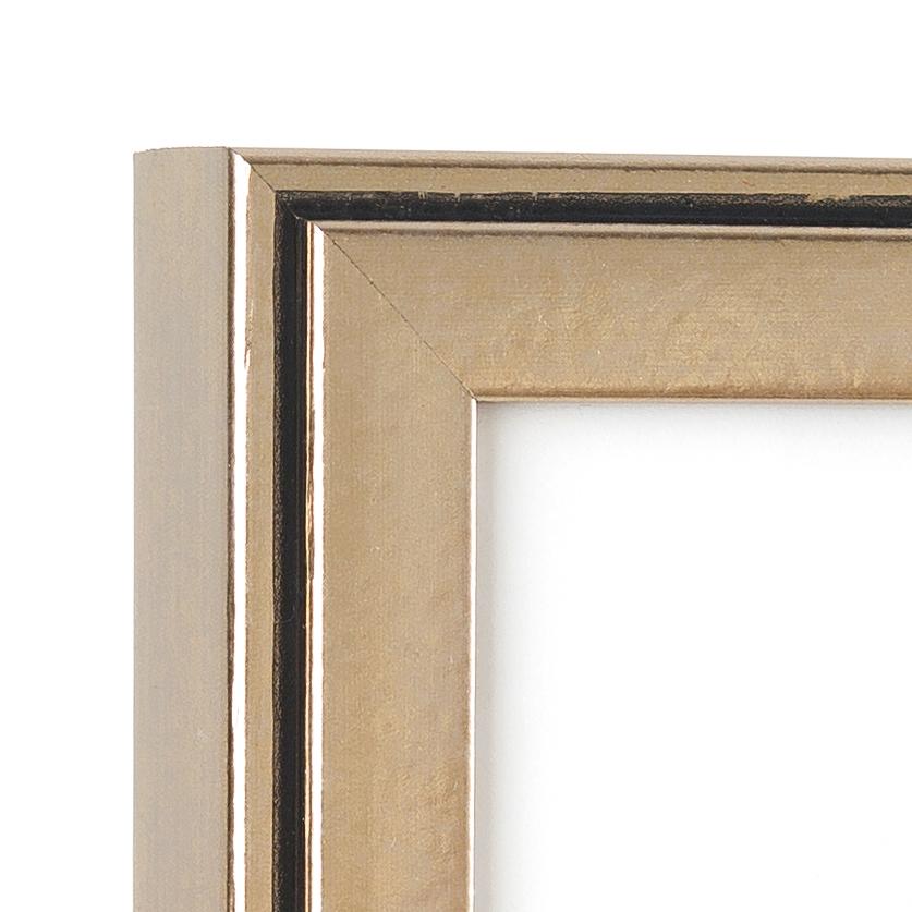 Ventura Frame Corner –16x20 pewter silver frame