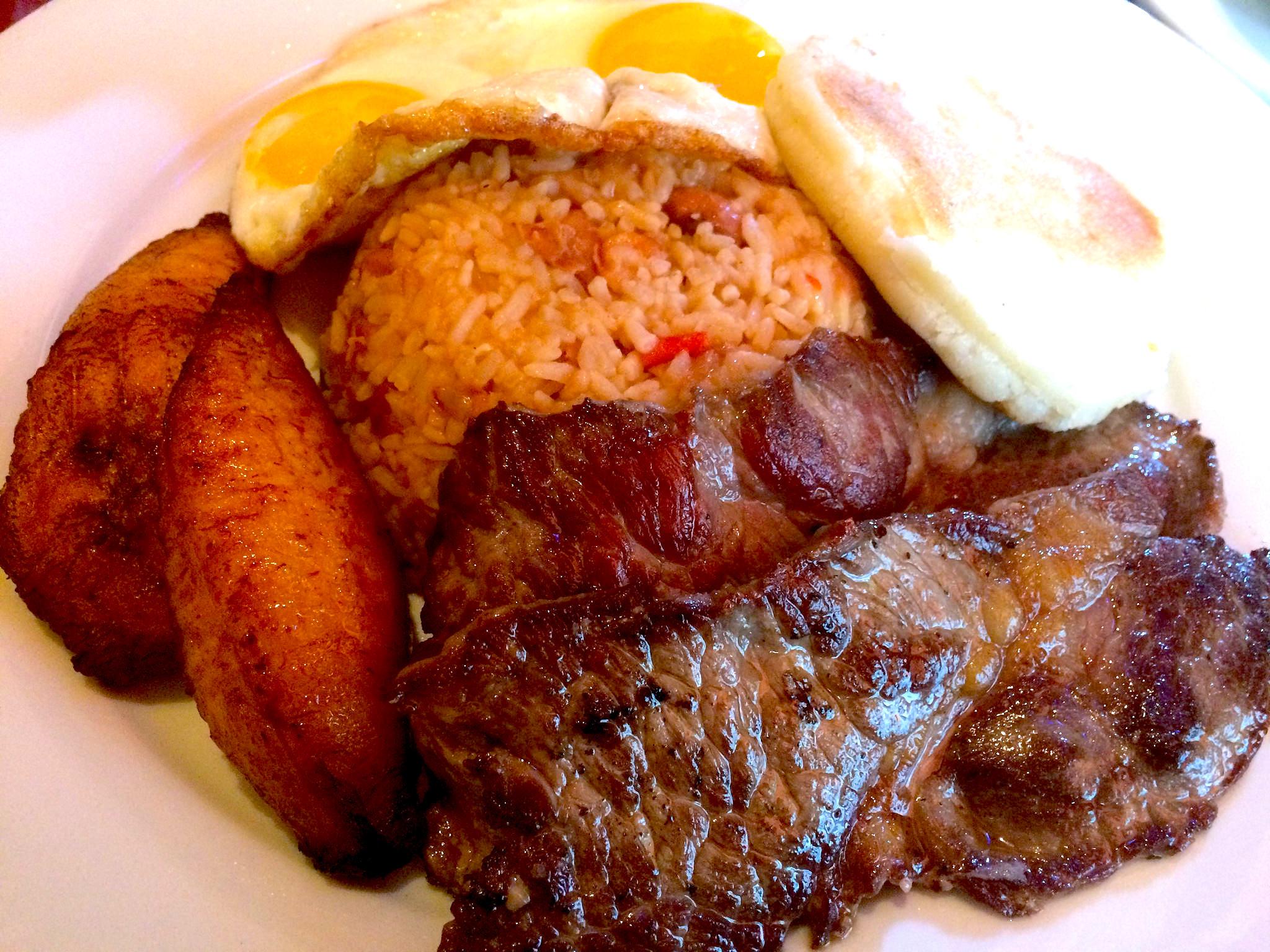 Colombian brunch