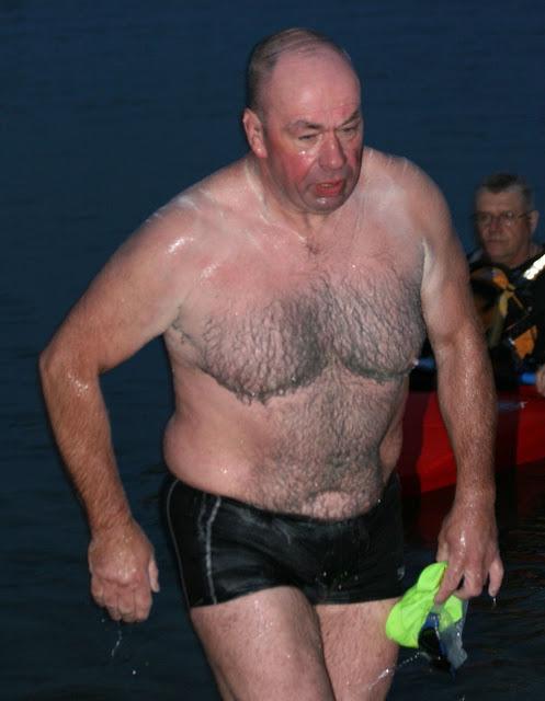 marathon swimmer Stephen Redmond