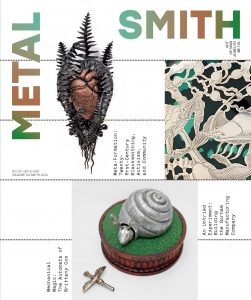 Metalsmith Magazine Cover