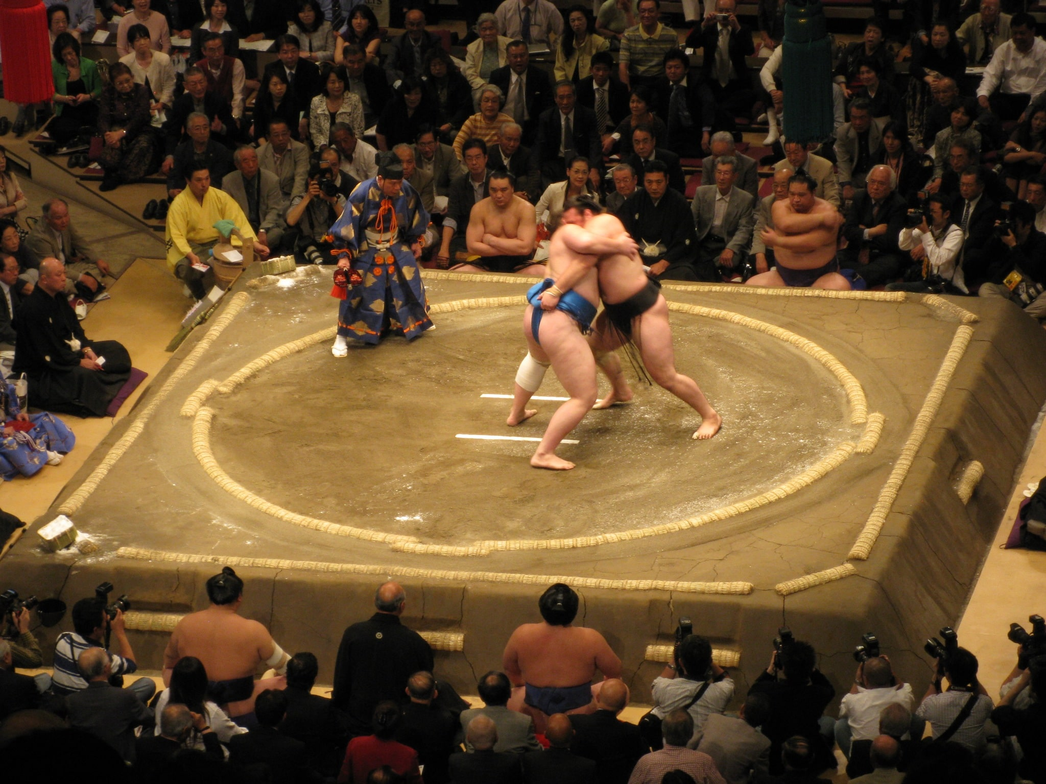 Tokyo National Sumo Hall is a really fun point of interest in Tokyo