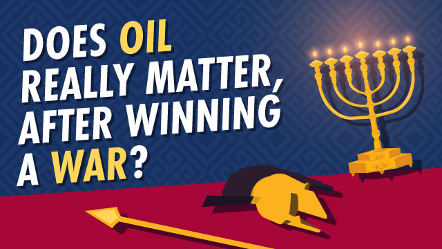 What is Chanukah celebrating