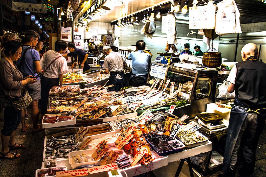 Nishiki Market Japan