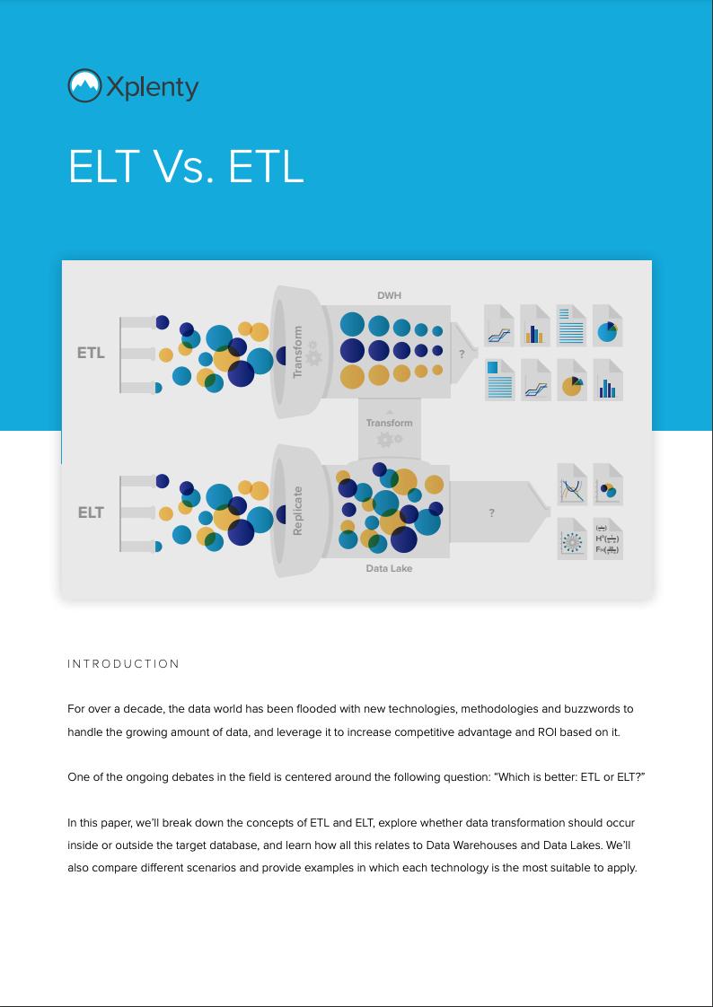 ELT vs ETL