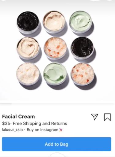 Buy on Instagram feature