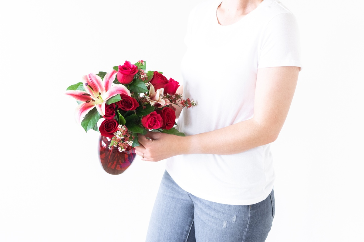 What does giving flowers symbolize?