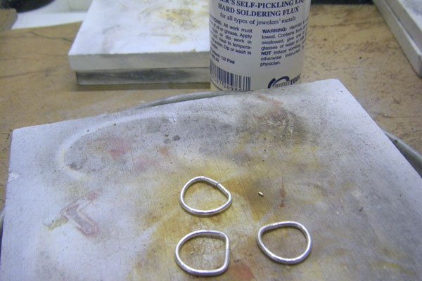 Preparing jewelry wire for soldering