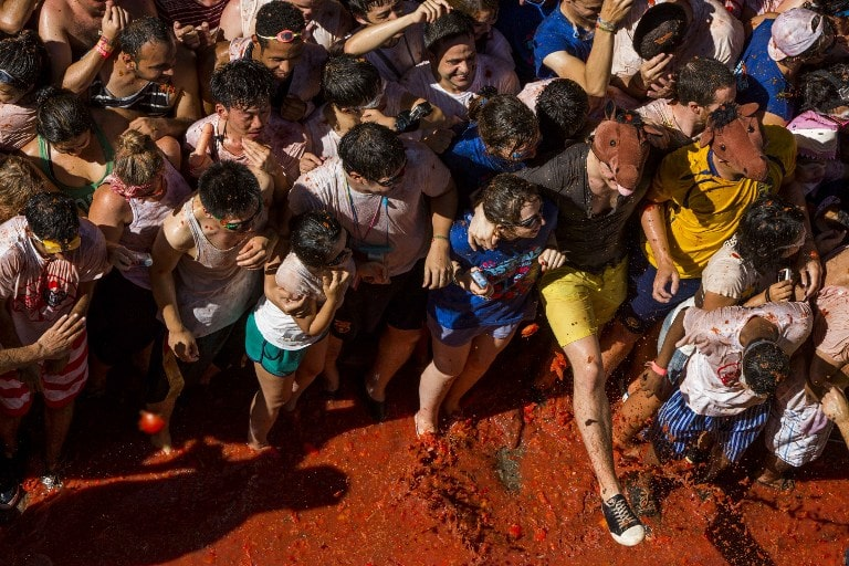 Bunol is THE place to visit in Spain for the famous tomato festival